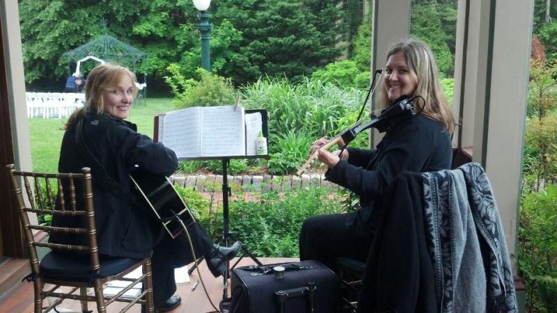Violin and Guitar Duo at Southern Mansion, Cape May NJ